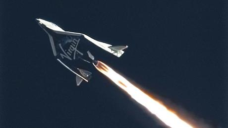 SpaceShipTwo Makes Highest, Fastest Flight Yet