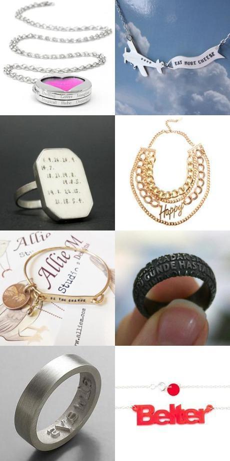 Jolly Jewellery: POSITIVE THINKING