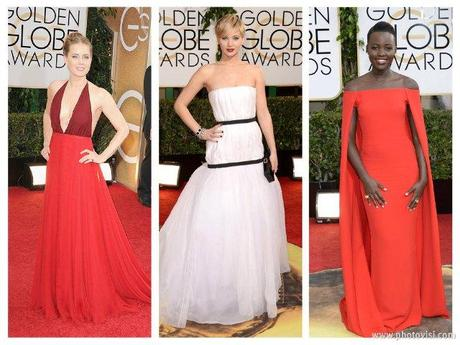 Best Dressed Golden Globes Awards 2014