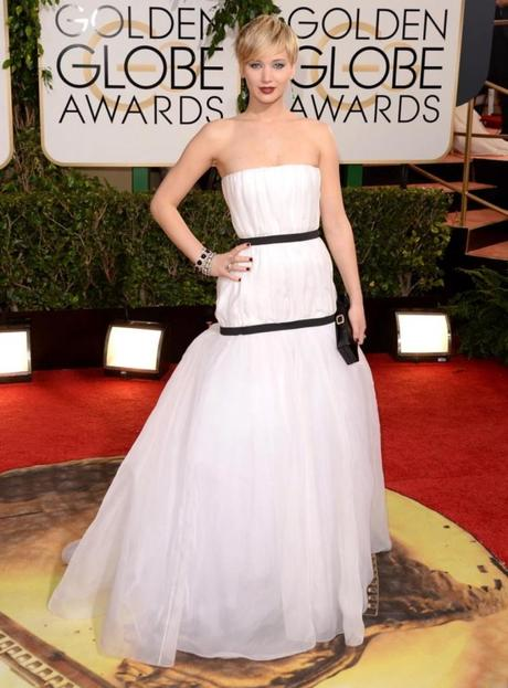 jennifer-lawrence at Golden Globes Awards 2014