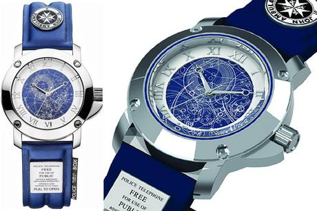 Tardis Inspired Watch