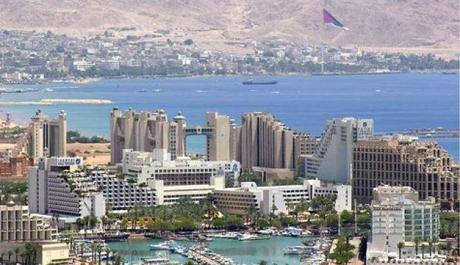 Eilat and Aqaba landscape