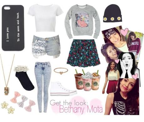 Get the look: Bethany Mota