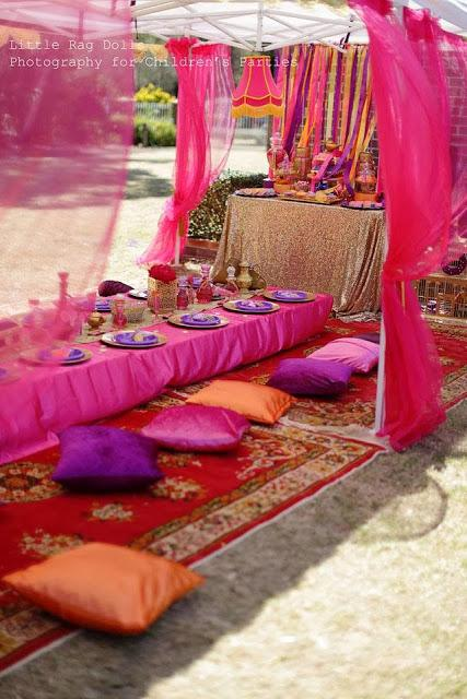 Marissa 39 s birthday an arabian nights themed party with a for Arabian nights decoration ideas
