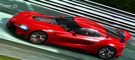Gran Turismo 6 to receive Toyota FT-1 Concept Coupe in tomorrow's update