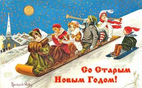 Old New Year in Russia