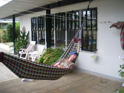 hammock sleeping