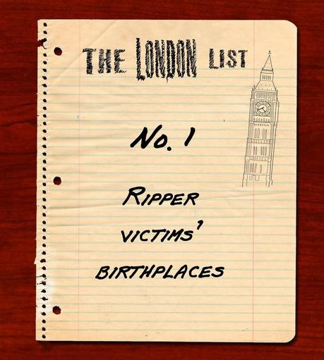 The London List No.1: Birthplaces of the Canonical Five