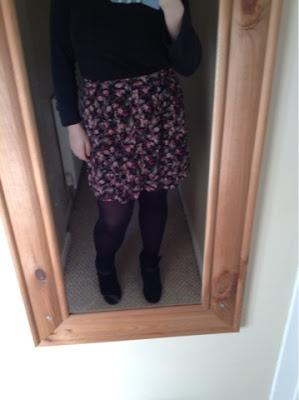 The New Look Skirt! (My First OOTD)