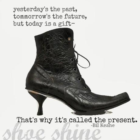 #SHOESHINE: Be Present.