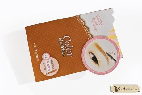Etude House Color My Brows #2 Light Brown Review
