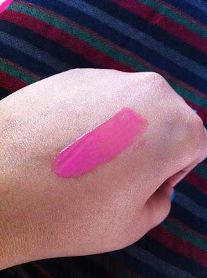 Maybelline Lip Polish Pop 5 - Review, Swatches
