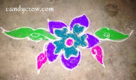 Easy Rangoli Designs For Pongal, Diwali and Karthikai Deepam
