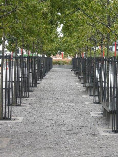 Grand Canal Square, Dublin, Ireland - Avenue of Trees