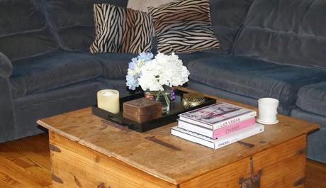 At Home: DIY coffee table