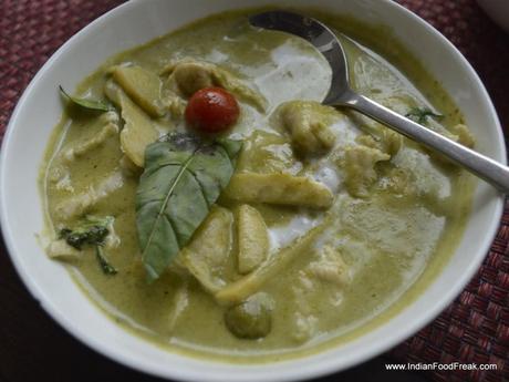 Thai Chicken Green Curry