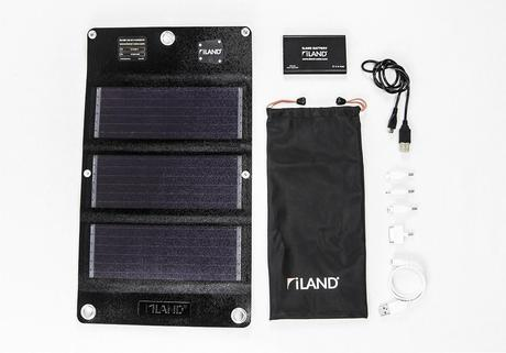 Gear Closet: iLand Fly Solar Charging System