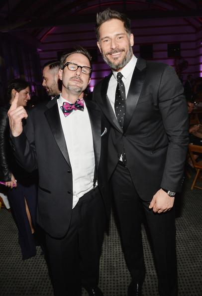 Joe Manganiello and David Arquette The Art of Elysium's 7th Annual HEAVEN Gala Presented by Mercedes-Benz - Inside Michael Buckner Getty Images