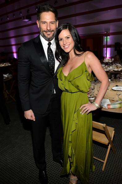 Joe Manganiello and Bridget Peters The Art of Elysium's 7th Annual HEAVEN Gala Presented by Mercedes-Benz - Inside Michael Buckner Getty Images 2