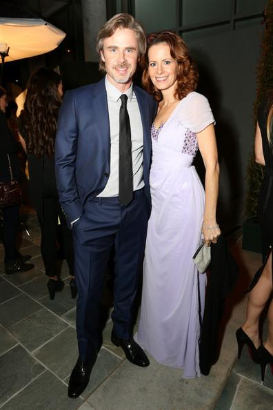 Sam Trammell and Missy Yager Perrier-Jouet Celebrates The Art Of Elysium's 7th Annual HEAVEN Gala Presented By Mercedes-Benz Rachel Murray Getty