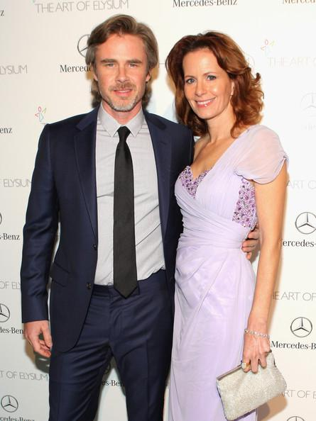 Sam Trammell and Missy Yager Perrier-Jouet Celebrates The Art Of Elysium's 7th Annual HEAVEN Gala Presented By Mercedes-Benz Mike Windle Getty 2