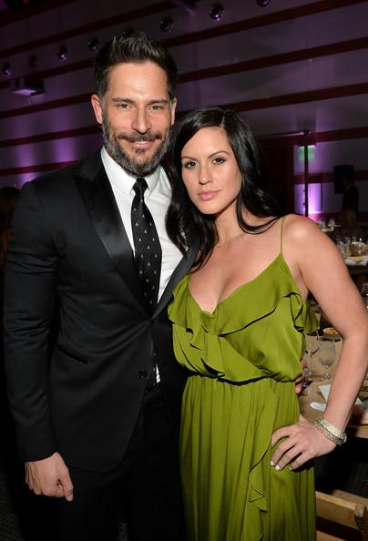 Joe Manganiello and Bridget Peters The Art of Elysium's 7th Annual HEAVEN Gala Presented by Mercedes-Benz - Inside Michael Buckner Getty Images