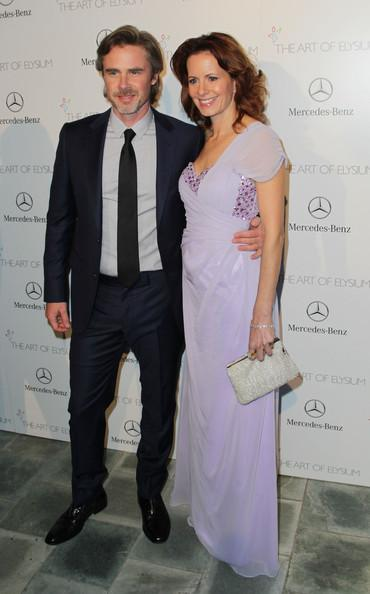 Sam Trammell and Missy Yager Perrier-Jouet Celebrates The Art Of Elysium's 7th Annual HEAVEN Gala Presented By Mercedes-Benz David Buchan Getty