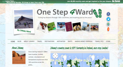 ward one step forward 4 ward johnny irish