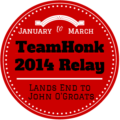 Team Honk 2014 blogger Relay