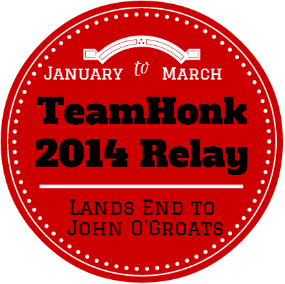 Team Honk 2014 blogger Relay