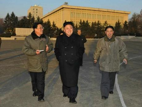 Kim Jong Un tours the State Academy of Sciences (Photo: Rodong Sinmun).