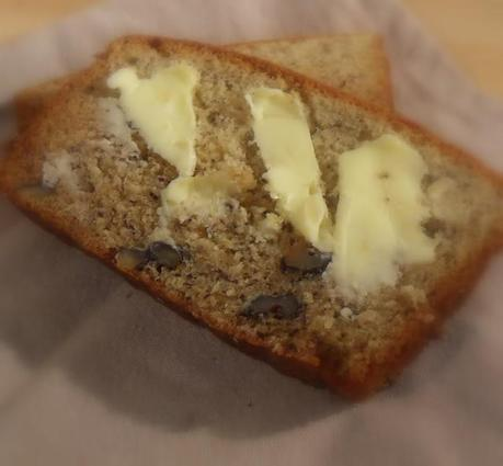 Sour Cream and Banana Loaf