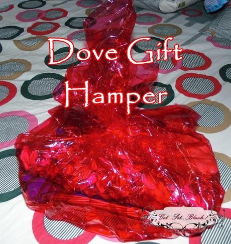 Dove Hair Spa at Home Gift Hamper-What I Received ?
