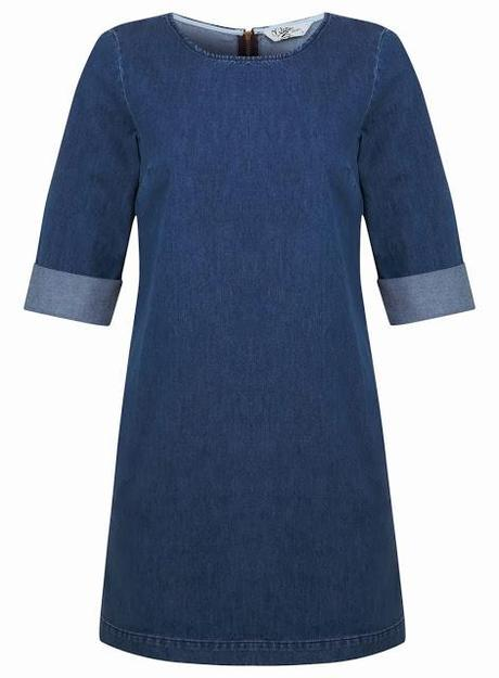 Pick Of The Day: Miss Selfridge Mid Wash Denim Shift Dress