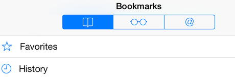 Organizing Bookmarks in Safari