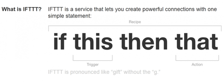 what is ifttt