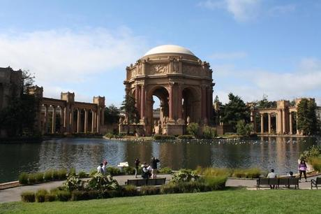 san francisco marina area palace of fine arts
