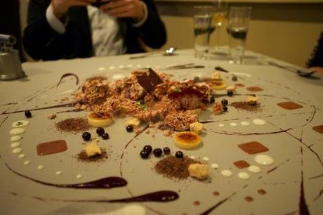 A Dessert Offered at Alinea