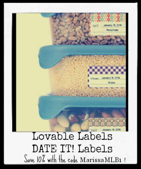 Keep your refrigerator and pantry organized with Date It! Labels from Lovable Labels