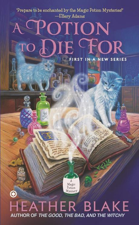 Review:  A Potion to Die For by Heather Blake