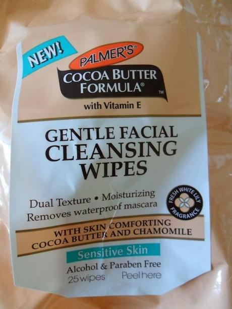 Palmers Gentle Facial Cleansing Wipes
