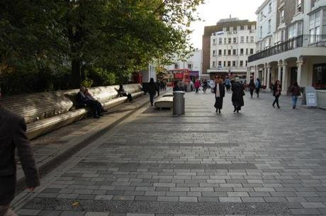 New Road, Brighton, Shared Space - Street Furniture Within Shared Space
