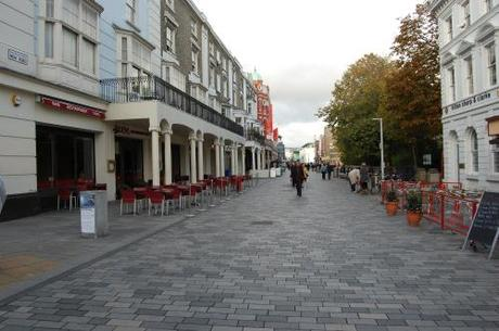 New Road, Brighton, Shared Space - Al fresco Eating