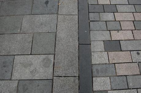 New Road, Brighton, Shared Space - Paving Detail