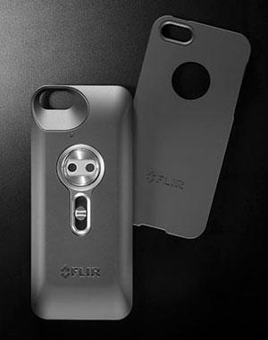 FLIR's New iPhone 5 and 5S Case