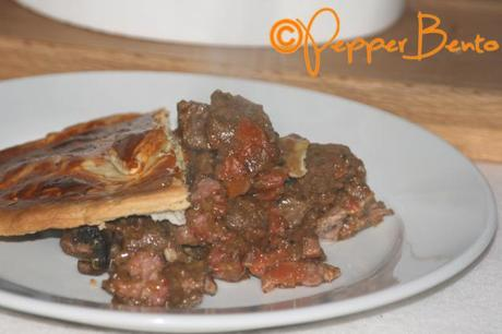 Steak, Bacon & Ale Pie CU