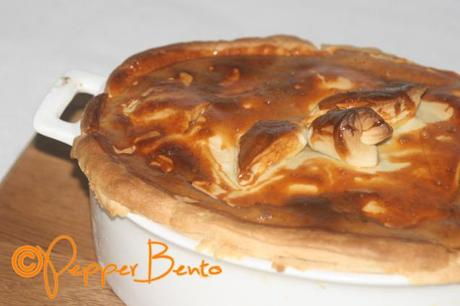 Steak, Bacon & Ale Pie D