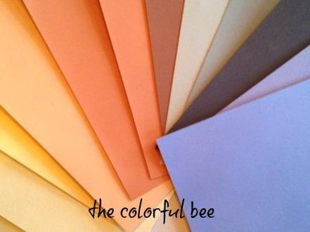 painted samples of paint colors
