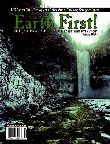 Cover of Earth First! Journal, Vol. 34, Issue 1, Brigid/Winter 2014