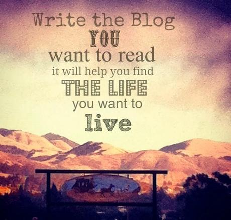 Introduction to ... Write the Blog You Want to Read ...